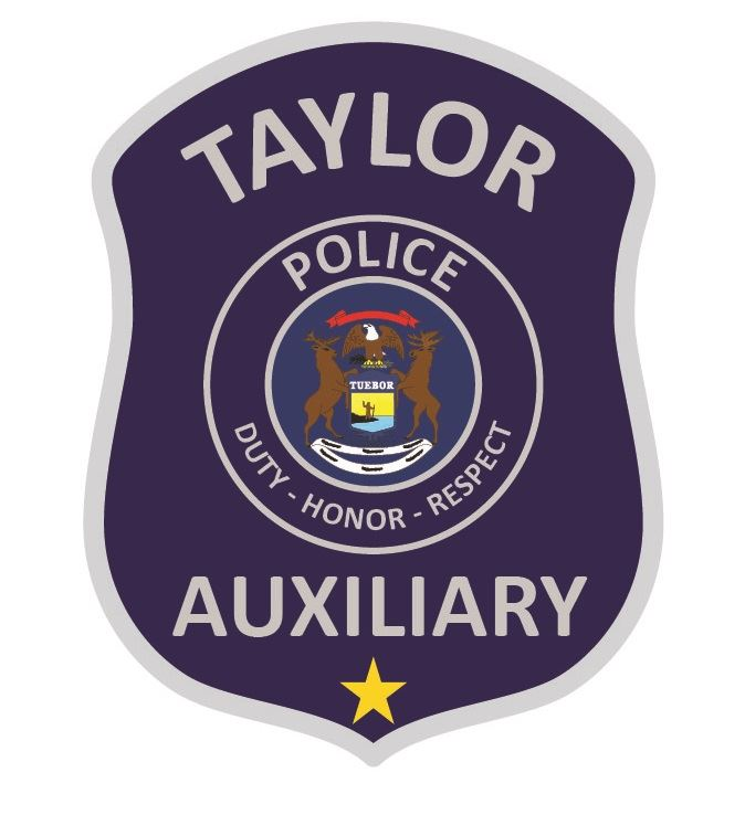 Taylor Aux Police patch