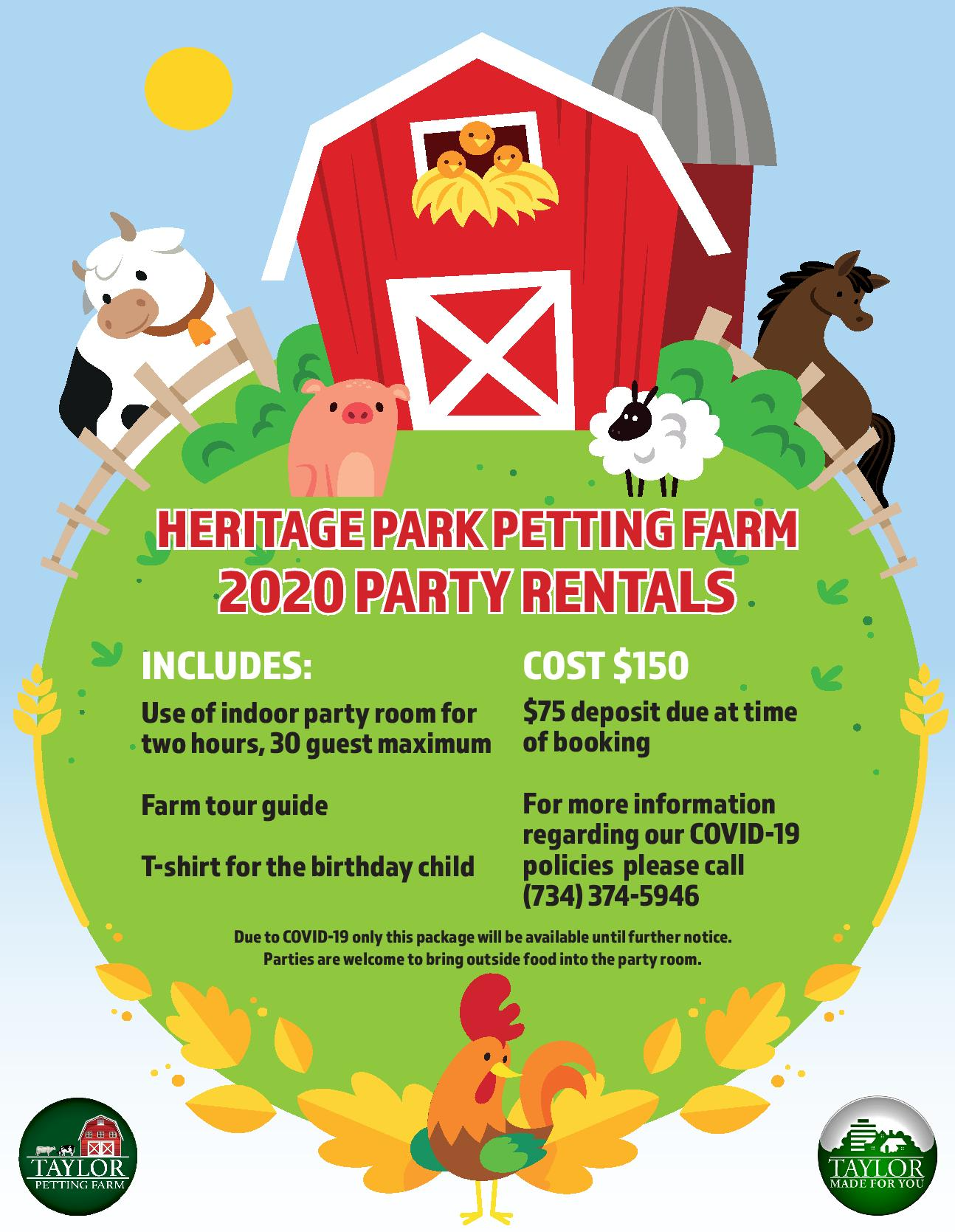 2020 Farm Party Rental -page-001